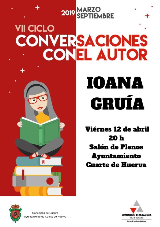 VII Ciclo Conversaciones con el Autor: Iona Gruía en Cuarte ...